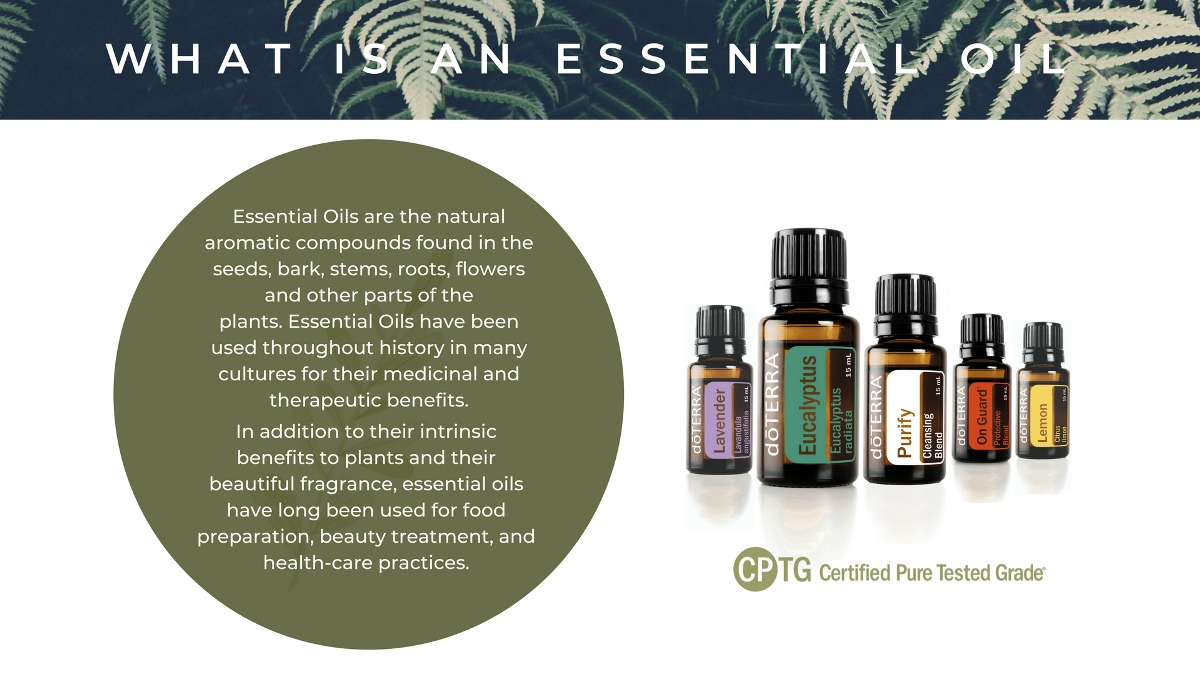 what is an essential oil by the natural village